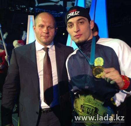 Мангистауский спортсмен завоевал золото на чемпионе Азии по боям без правил