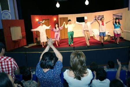 В Актау прошел спектакль Шымкентского театра сатиры и юмора