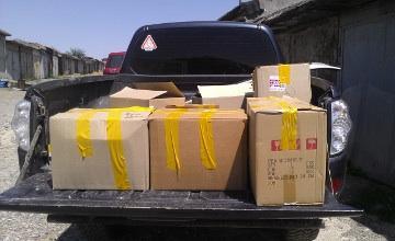 Жители Шымкента собирают гуманитарную помощь для украинцев