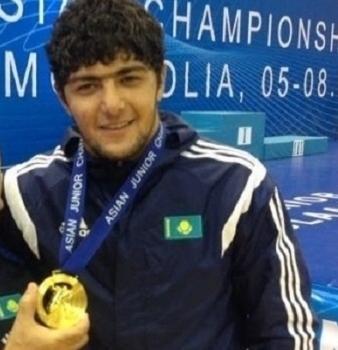 Актауский борец Эльхан Асадов завоевал «золото» на чемпионате Азии