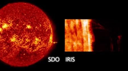 Аппарат NASA заснял грандиозное извержение на Солнце