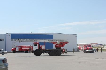 В Актау пожарные провели тактические учения