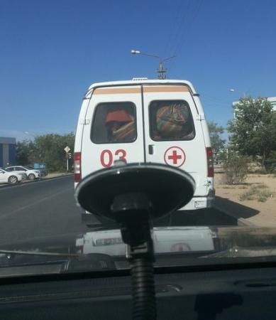 В «Скорой помощи» прокомментировали фотографии медицинского автомобиля, опубликованные в «Народных новостях»