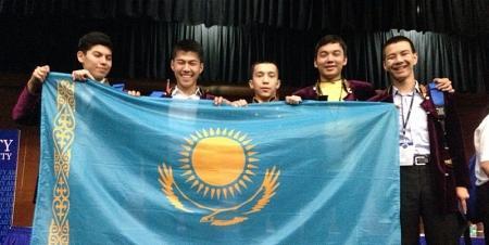 Мангистауские школьники стали бронзовыми призерами международной предметной олимпиады  в Индии