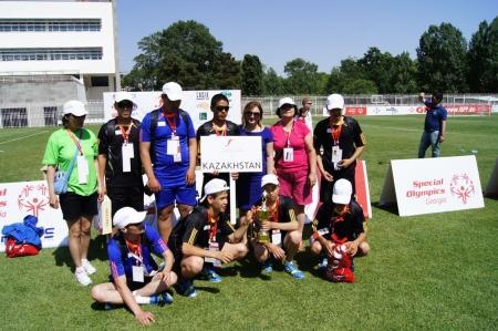 Мангистауские спортсмены стали серебряными призерами Европейского турнира по мини-футболу среди людей с ограниченными возможностями.
