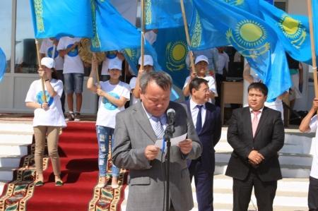 Более пятидесяти мунайлинцев приняли участие в велопробеге