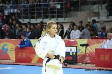 Спортсменка из Актау Олеся Куценко стала серебряным призером чемпионата Казахстана по казакша курес