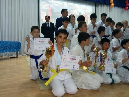 Актауские каратисты привезли шесть медалей с Кубка акима Астаны