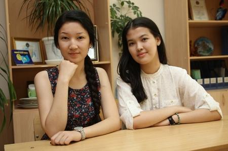 Актауские обладательницы «Алтын белгi» поделились впечатлениями от сдачи ЕНТ