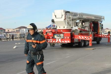 За неделю в Мангистау зарегистрировано семь пожаров