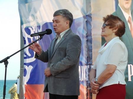 В Актау отметили День России