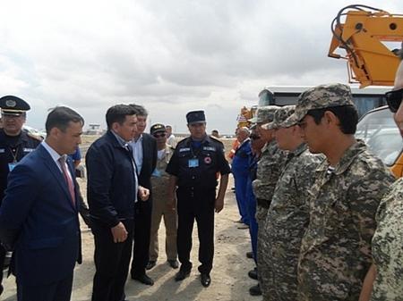 В Мангистау прошли командно-штабные  учения «Мұнай -2014»