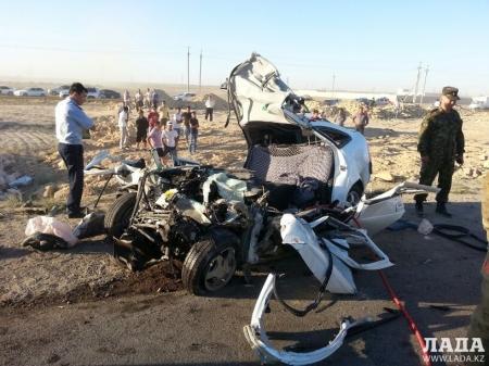 Двое пассажиров, госпитализированных после аварии возле поселка «Мангистау-3», скончались в больнице