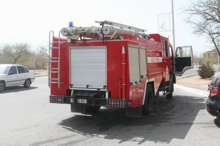 В Мангистауской области в результате пожара пострадал мужчина