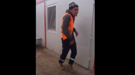 Танцующий рабочий из Астаны приобрел мировую известность