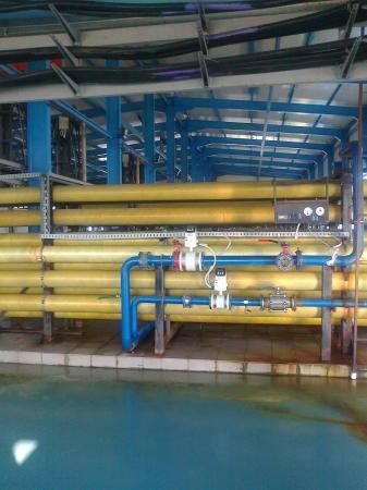 Опреснительный завод «Каспий» после девятилетнего простоя был введен в эксплуатацию