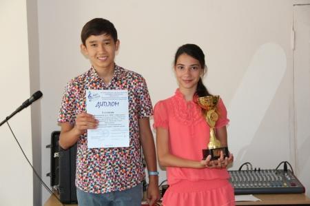 Юные вокалисты Актау вернулись победителями с международного конкурса