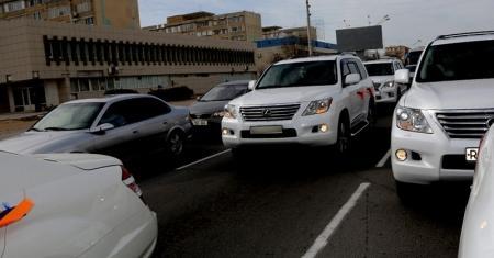Мангистауская область занимает второе место в республике по количеству новых автомашин