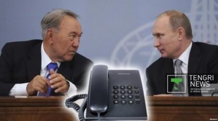 Назарбаев и Путин обсудили евразийскую интеграцию и Украину