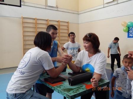 В Мунайлинском районе прошли соревнования, посвященные Дню госслужащих