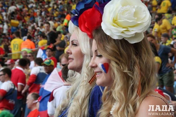 Бразильские дневники. На матче России с Бельгией