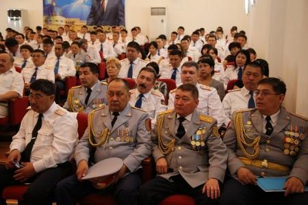 В Департаменте внутренних дел Мангистауской области прошли мероприятия, посвященные Дню полиции