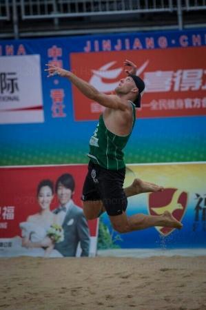 Актауский спортсмен стал серебряным призером чемпионата Азии по пляжному волейболу