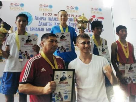 Мангистауские боксеры завоевали пять золотых медалей на республиканском турнире