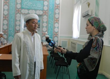 В канун Ораза главный имам Мангистау встретился с журналистами