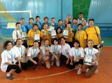 В Актау прошли соревнования среди госслужащих