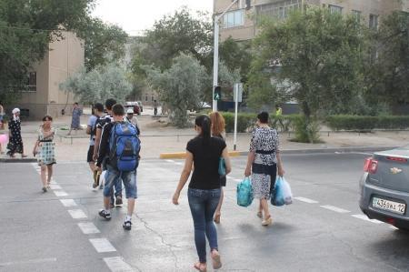 Мурат Медетов: Регулируемый пешеходный переход в восьмом микрорайоне облегчил жизнь водителям