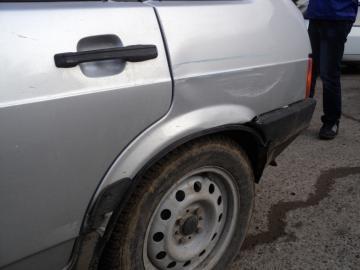 В дорожной аварии на автотрассе Жетыбай-Курык тяжелые травмы получили два человека