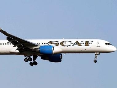 SCAT прекратила выполнение рейса через Киев