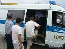 За три дня в Актау задержаны 13 пьяных водителей