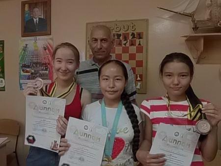 В Актау прошел шахматный турнир среди школьников