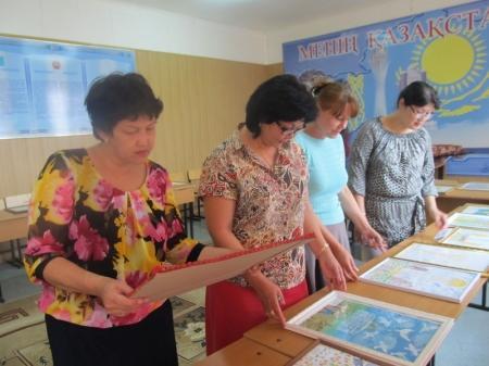 В Актау подвели итоги конкурса рисунков «Астана — столица моя!»