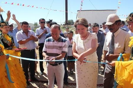 В селах Мангистауской области открылись новые спортивные комплексы