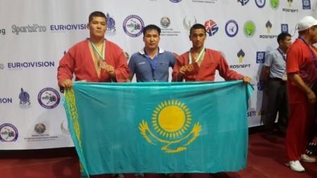 Мангистауские самбисты завоевали «золото» и «бронзу» на чемпионате Азии