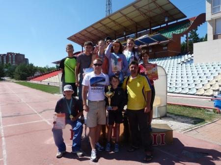 Мангистауские многоборцы завоевали три золотые медали на летней спартакиаде школьников и студентов