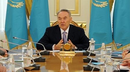 Назарбаев встретился с участниками Совета министров обороны стран СНГ