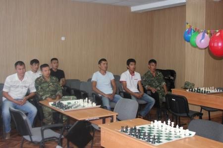 В Актау прошли шахматные баталии среди пожарных