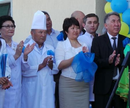 В Мангистауской больнице открылся новый операционный блок