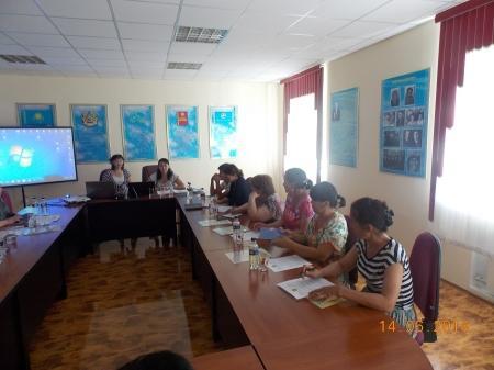 Центр «Рай» организовал в Мангистауской области проект помощи педагогам