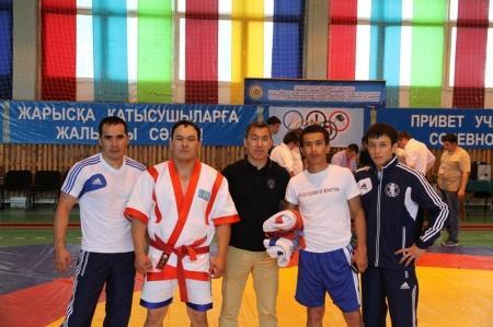 Команда ДКНБ Мангистауской области заняла первые места на спортивных соревнованиях