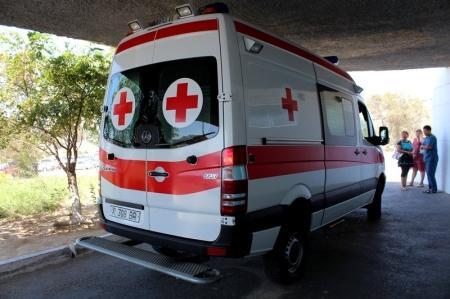В Актау водитель протаранил автомашину своего начальника