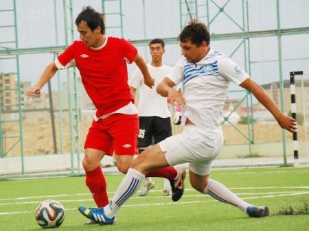 В Актау прошли первые матчи Открытого Чемпионата города по футболу (6х6)
