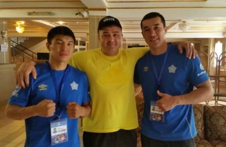 Адильбек Ниязымбетов и Берик Абдрахманов вышли в 1/4 финала Кубка Президента