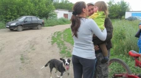Собака-спаситель двухлетней девочки оказалась бродячей