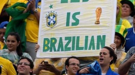ЧМ-2014: Где смотреть матч Бразилия - Голландия