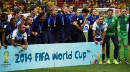 Голландия разгромила Бразилию в матче за третье место ЧМ-2014 по футболу